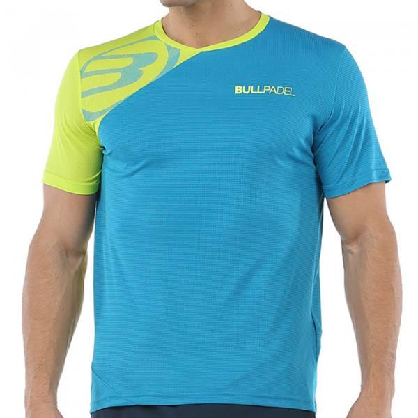 Camiseta Bullpadel Chamois Azul