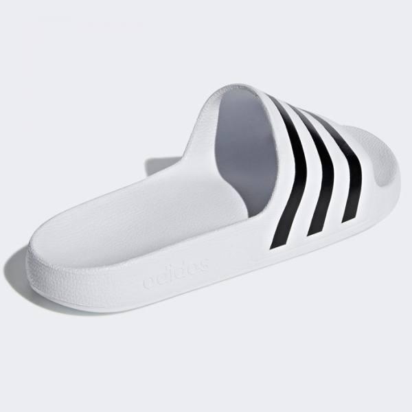 Chanclas Adidas Adilette Aqua Blancas Negras
