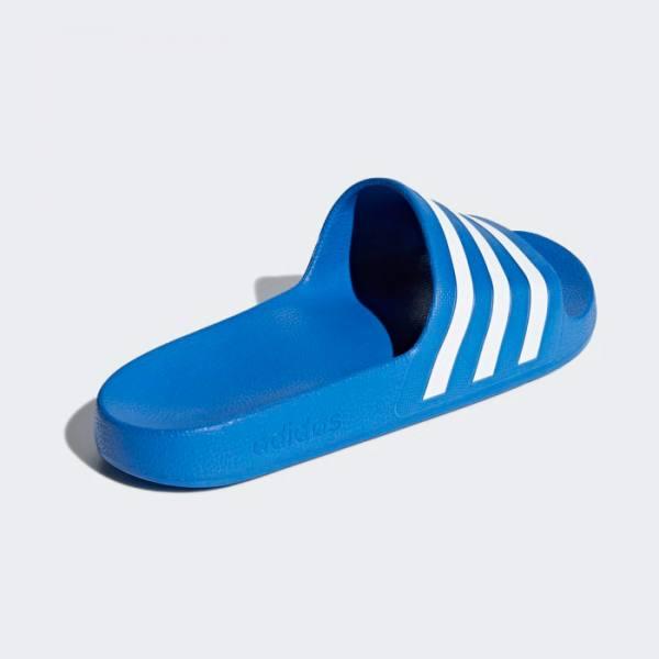Chanclas Adidas Adilette Aqua Azul Claro y Blanco