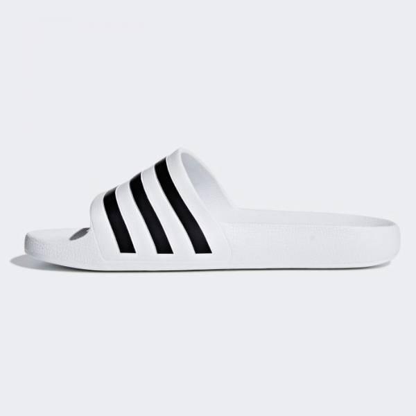 Chanclas Adidas Adilette Aqua Blancas Negras 2020