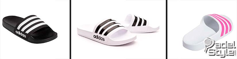Chanclas Adidas de hombre y mujer