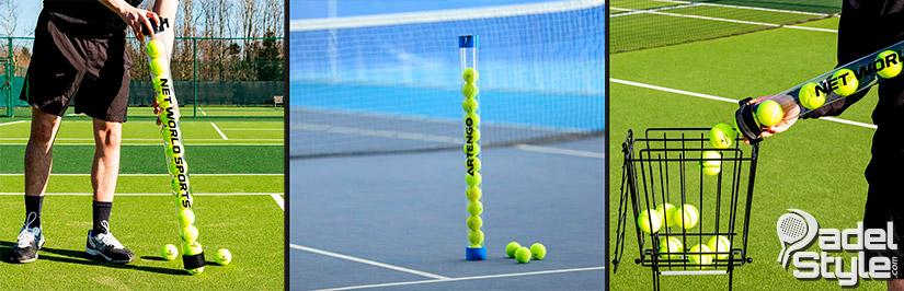 Recogepelotas pádel y tenis