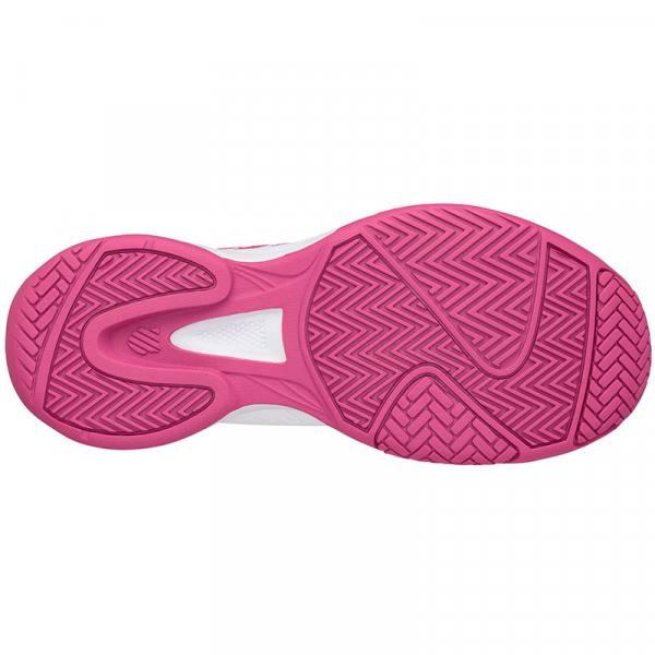 Suela zapatillas Court Express blanca-rosa