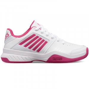 Zapatillas Court Express blanca-rosa de Kswiss