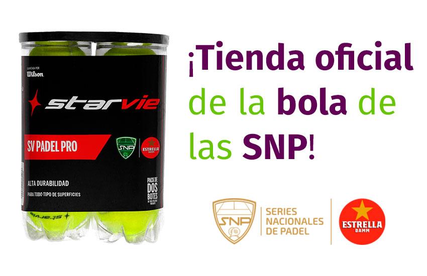 Padelstyle tienda oficial de la bola oficial de las Series Nacionales de Pádel