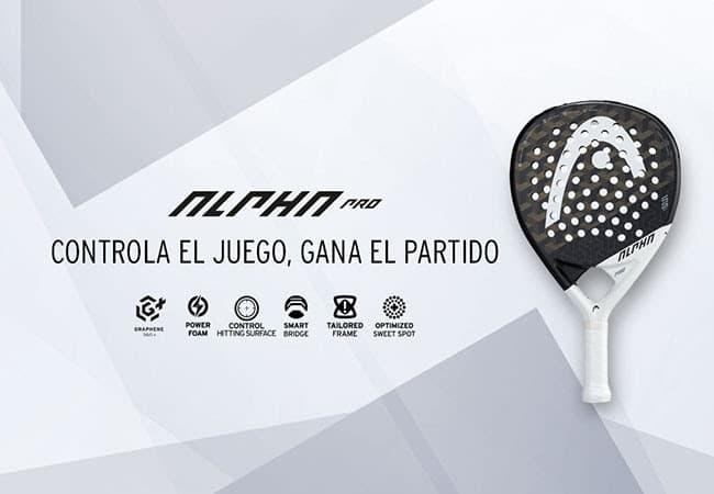 Alpha Pro pala HEAD