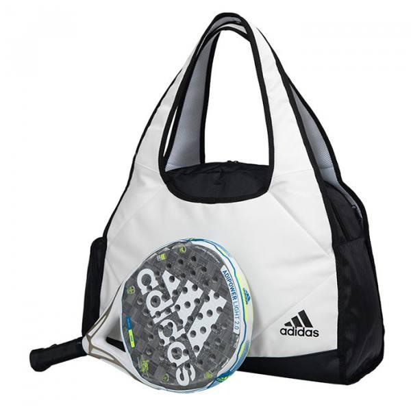 Bolso Adidas Big Weekend White con pala