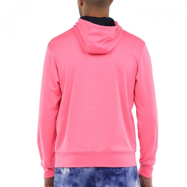 Sudadera Madaleta rosa con capucha