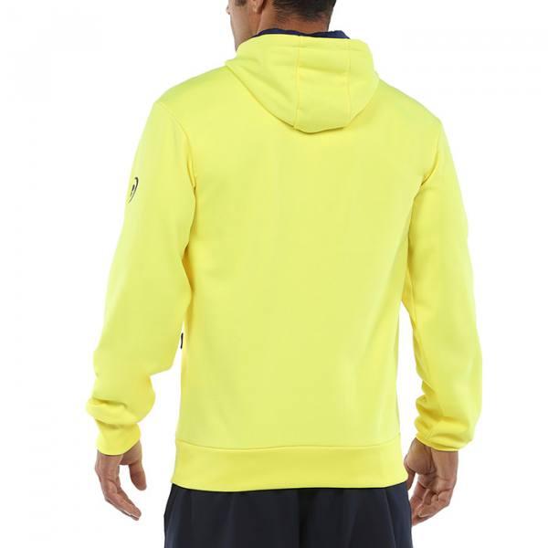 Sudadera Viota amarilla con capucha
