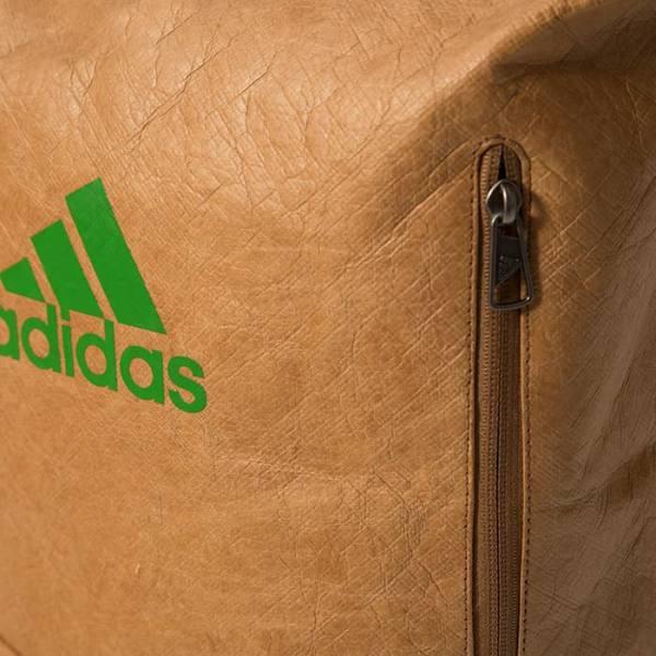 Mochila Multigame Adidas Green Padel closeup