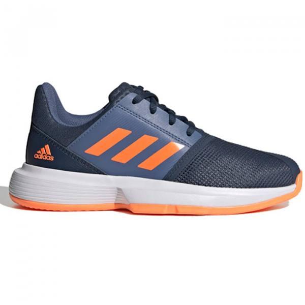 Zapatillas Adidas Courtjam xJ perfil 1