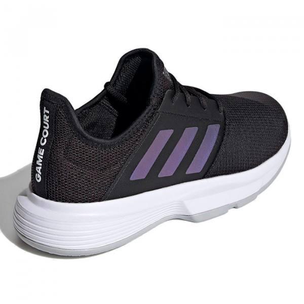 Zapatillas Adidas negras Gamecourt Woman 2021