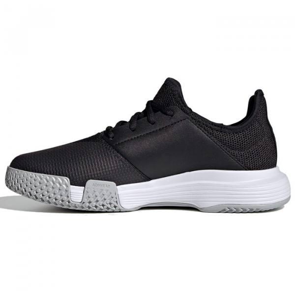 Zapatillas Adidas negras Gamecourt Woman 21