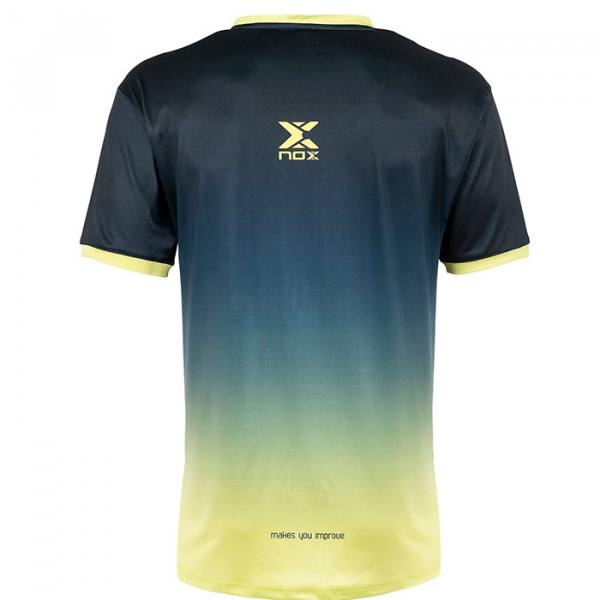 Camiseta Nox Pro Azul-Lima 2021