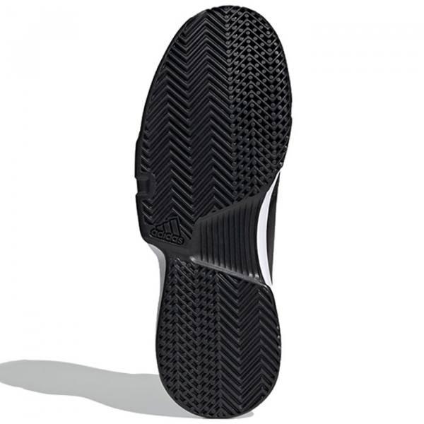 Zapatillas Adidas Gamecourt negras Woman suela