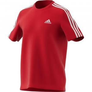 Camiseta Adidas 3 bandas scarlet 2021