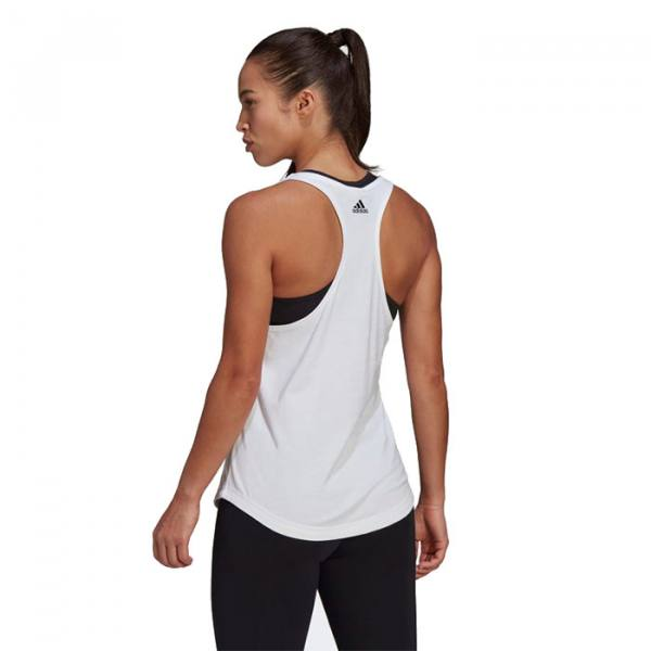 Camiseta Adidas Loungewear blanco
