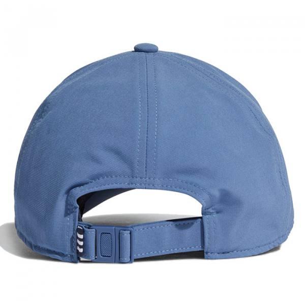 Gorra Adidas Baseball Aeroready 3 bandas azul21
