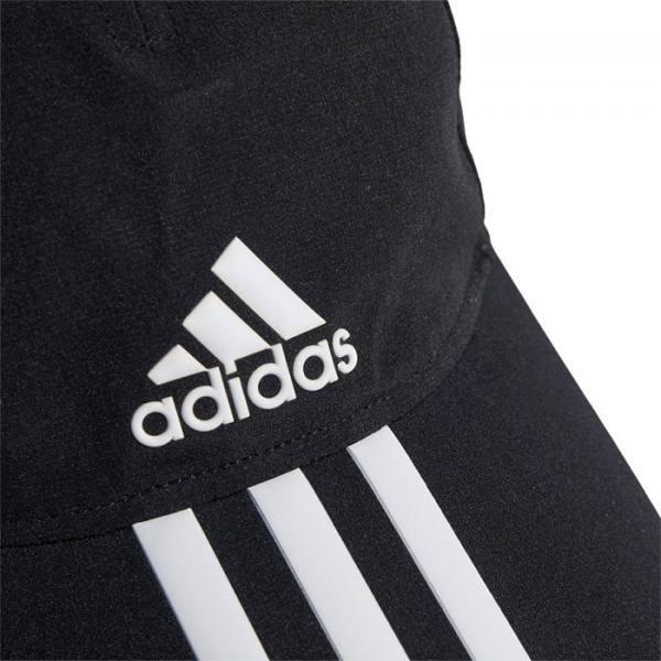 Gorra Adidas Baseball Aeroready 3 bandas negro