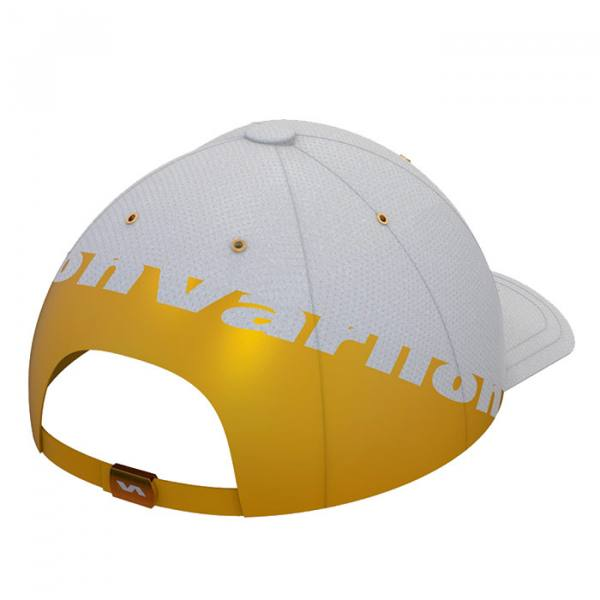 Gorra Varlion Summum blanco y dorado 2021