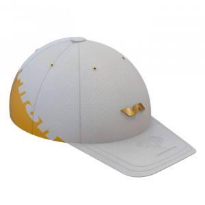 Gorra Varlion Summum blanco y dorado