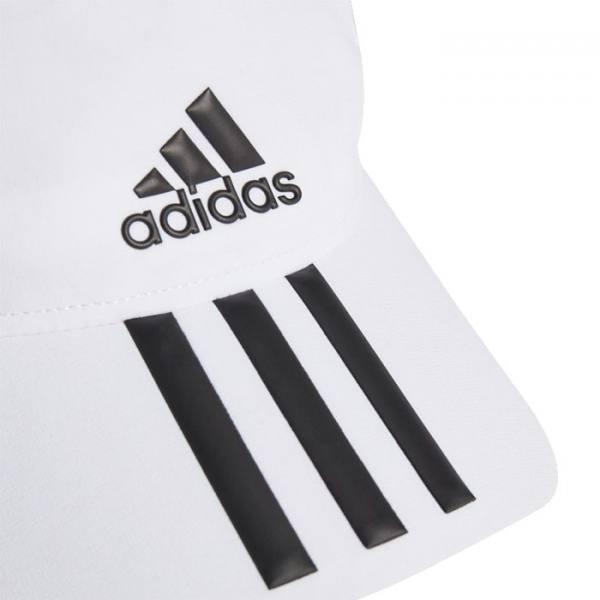Gorra Adidas Baseball Aeroready 3 bandas blanco 21