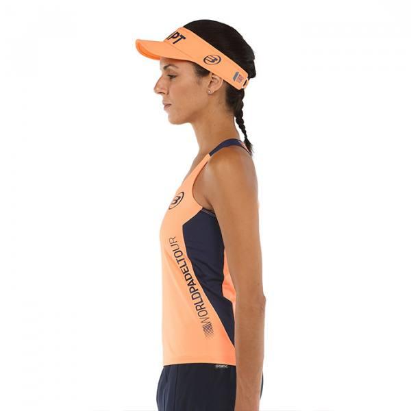 Camiseta Bullpadel Yali Naranja flúor 2021
