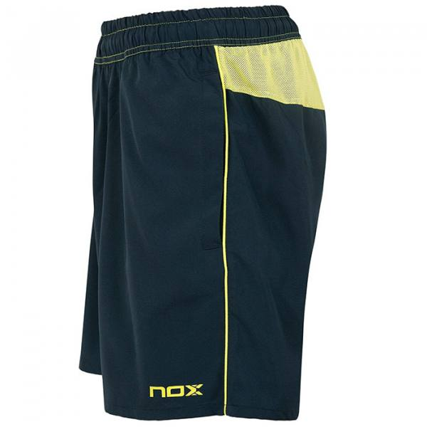 Short NOX Pro Azul Marino y Lima 2021