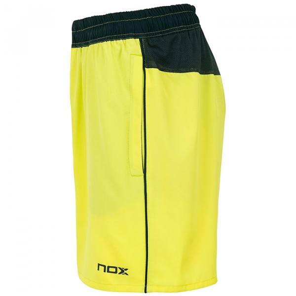 Short NOX Pro Lima y Azul 2021