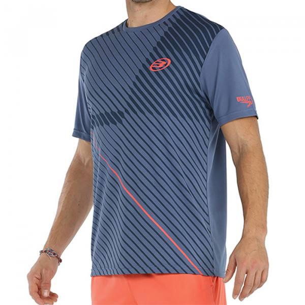 camiseta bullpadel cache azul 2021