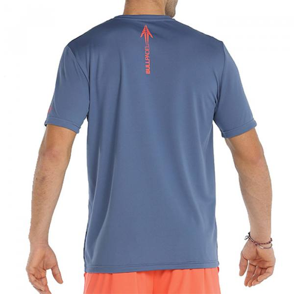 camiseta bullpadel cache azul 21
