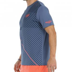 camiseta bullpadel cache azul