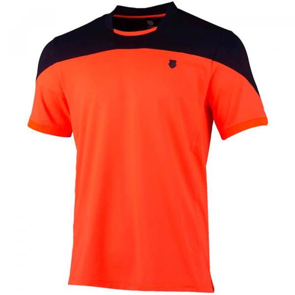 Camiseta Kswiss Hypercourt Orange