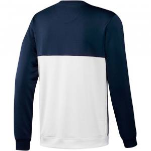 Sudadera Adidas T16 CR azul