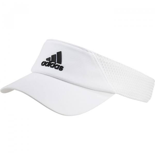 Visera Adidas Aeroready blanca