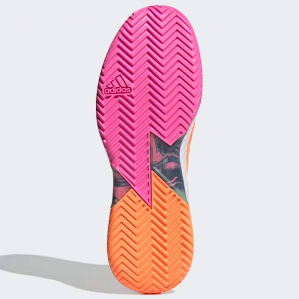 Zapatillas Adidas Adizero Ubersonic 4 Naranja Suela