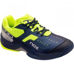 Zapatillas NOX AT10 Azules-Verdes