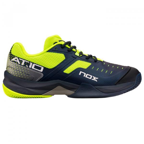 Zapatillas NOX AT10 Azules-Verdes 21