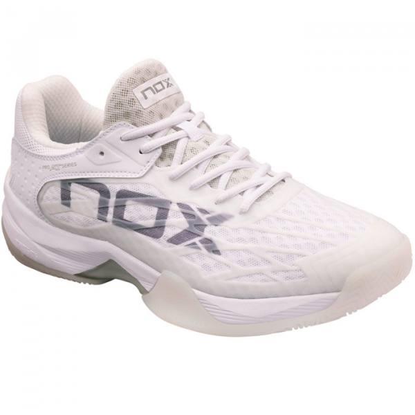 Zapatillas NOX AT10 LUX Blancas-Grises