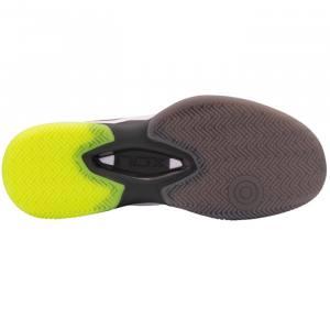 Zapatillas NOX AT10 LUX Grises-Amarillas Suela