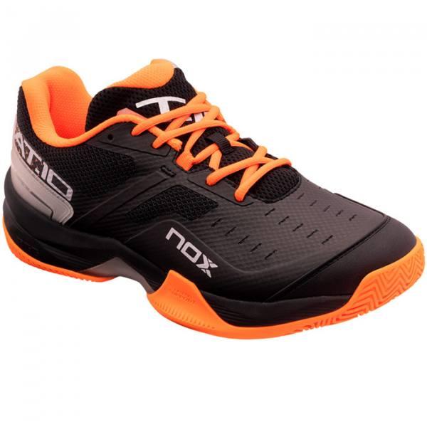 Zapatillas NOX AT10 Negras-Naranjas