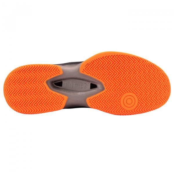 Zapatillas NOX AT10 Negras-Naranjas Suela