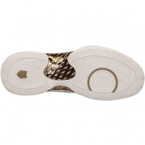 zapatillas kswiss hypercourt supreme blancas suela
