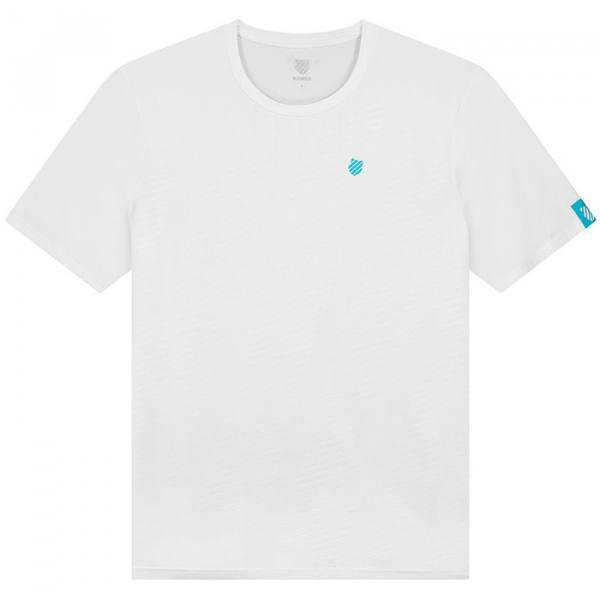 camiseta kswiss hypercourt blanca