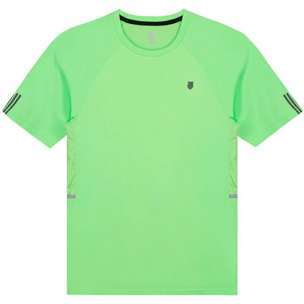 camiseta kswiss hypercourt verde
