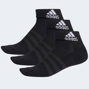 Calcetines Adidas Negros Tobilleros Pack 3