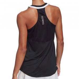 camiseta tirantes adidas club black mujer 2021