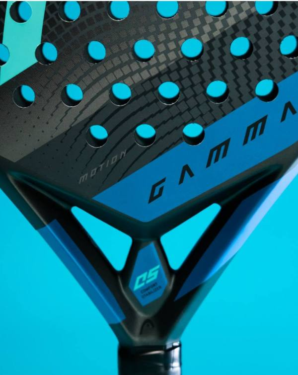 closeup pala head graphene 360 gamma motion