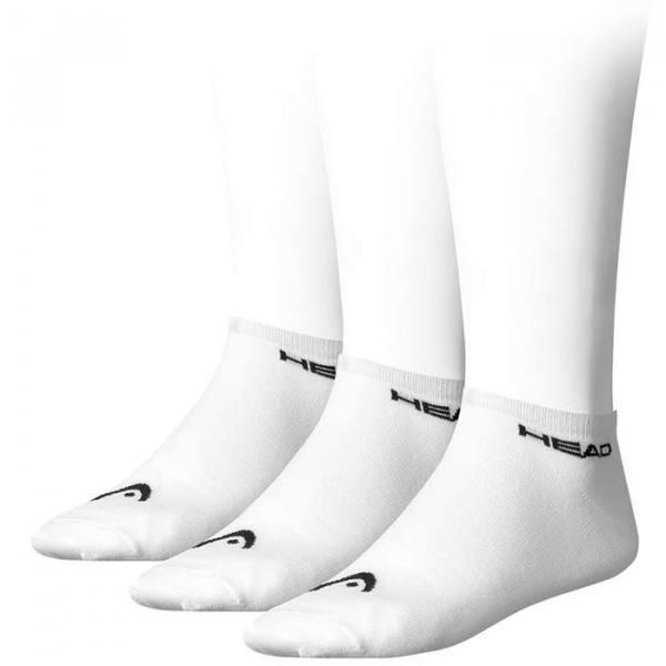 calcetines head sneaker blancos cortos