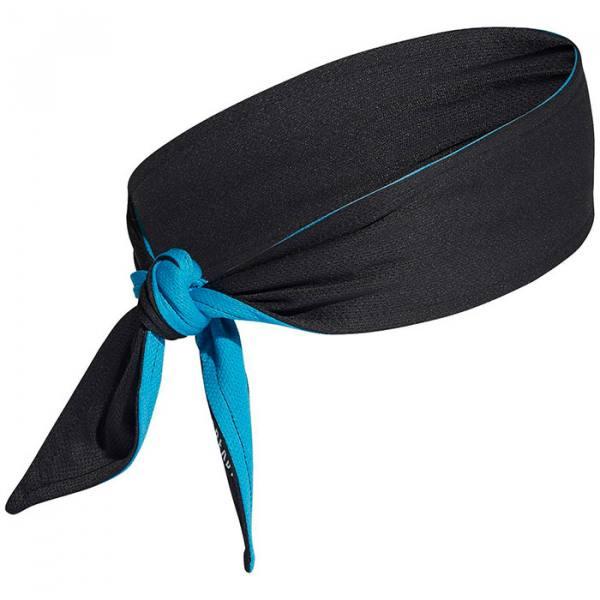 cinta adidas aeroready negro azul 2021